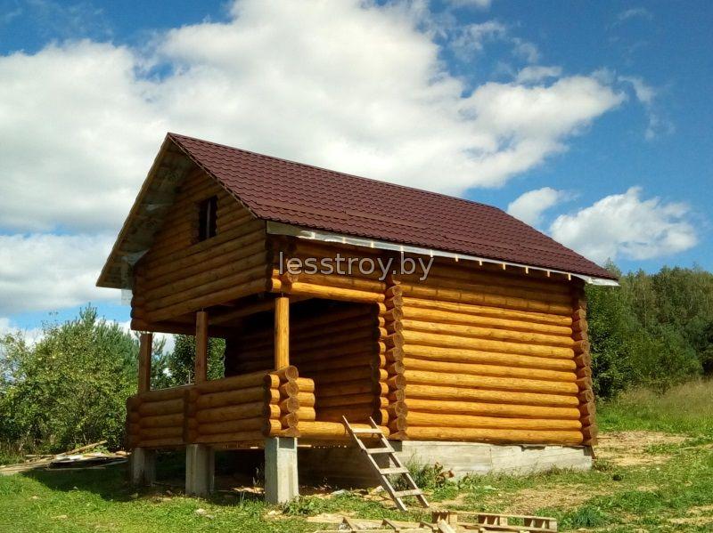 Деревянный дом проект №1