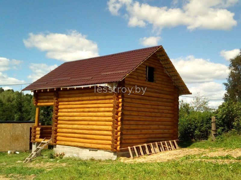 Деревянный дом проект №1 беларусь