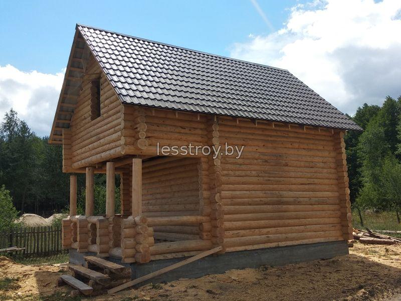 Деревянный дом проект №1 логойск