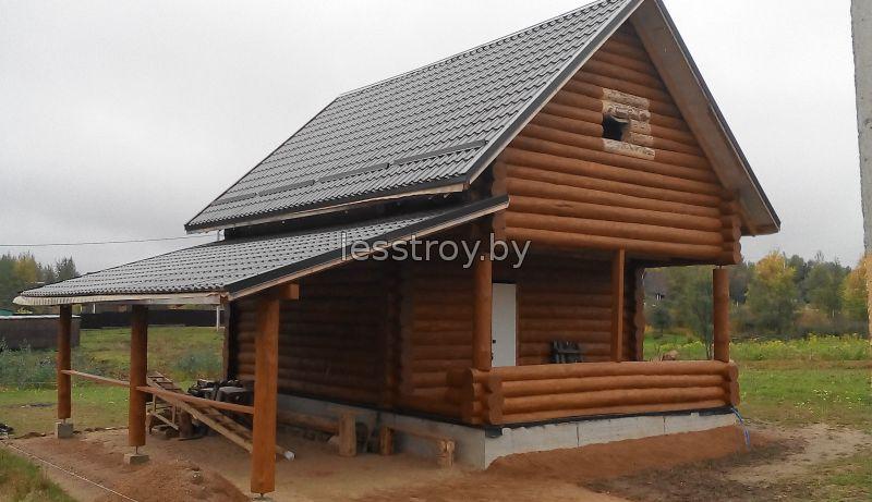 Строительство деревянный дом