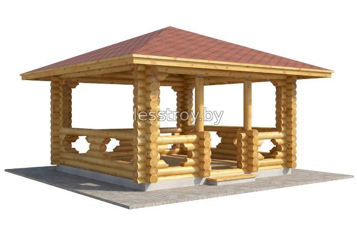 Купить беседку деревянную в Минске у производителя.