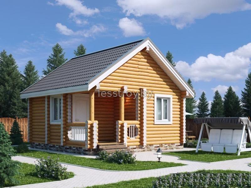 Строительство дачных домов из бревна