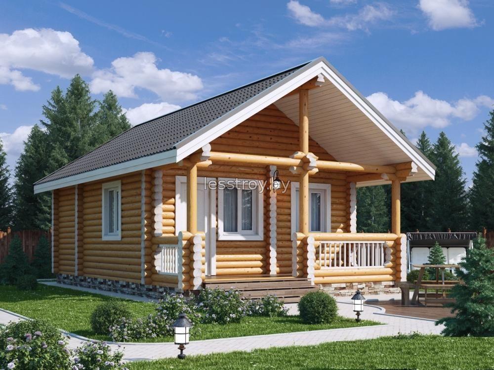 Купить деревяный дачный дом