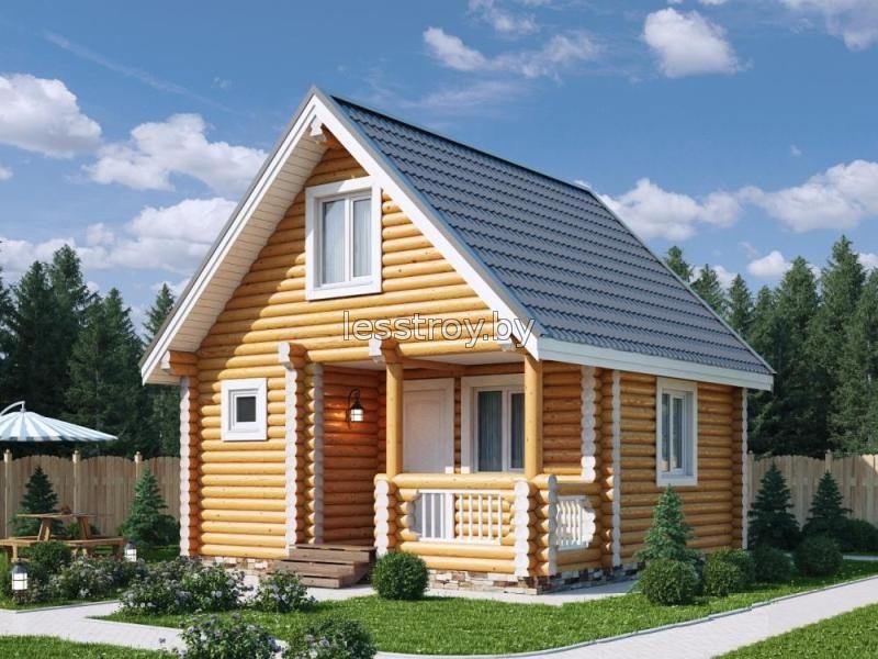 Дача из бревна построить в Минске