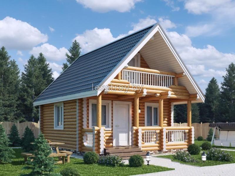 Как построить дачный деревянный дом