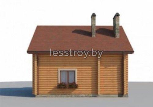 Дом из бревна построить