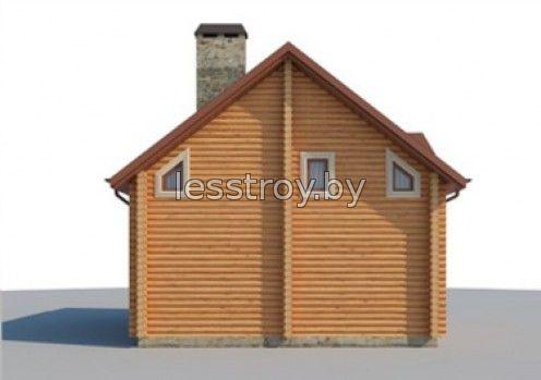 Дом из бревна цена под ключ