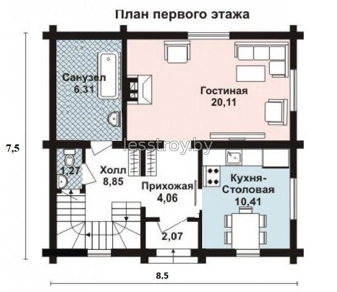 Дом из бревна стоимость построить под ключ