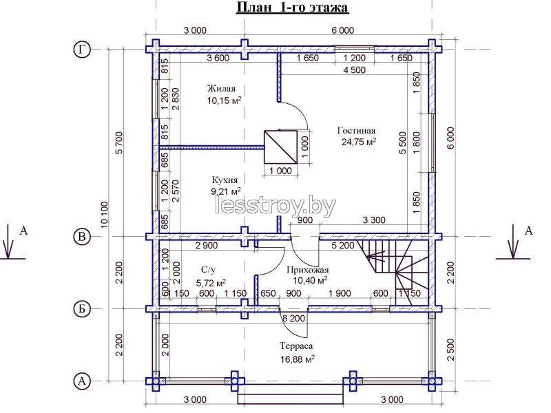 Построить деревянный дом Минск