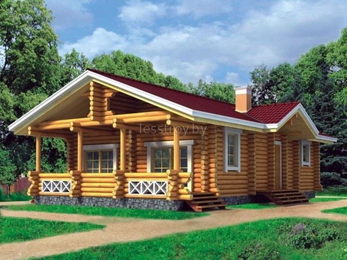 Деревянный дом под ключ