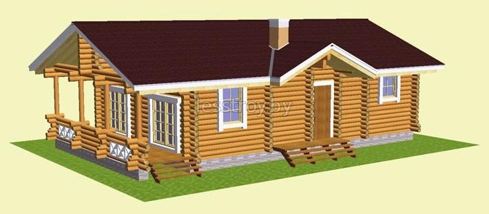 Построить деревянный дом под ключ минск