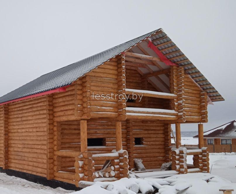 Строительство деревянных домов Минск.