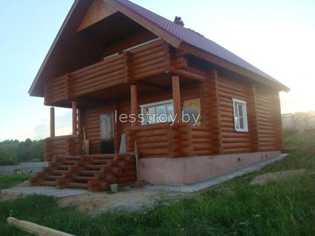 Деревянные дачные дома из бревна
