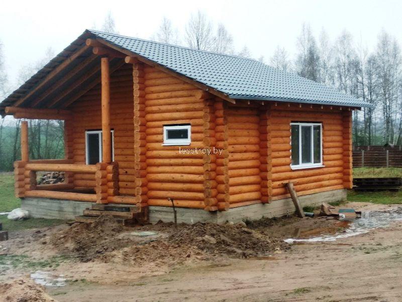 Дом из дерева построить