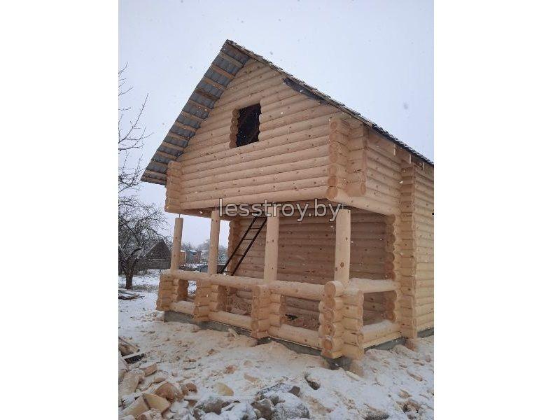 Дом деревянный в Минске